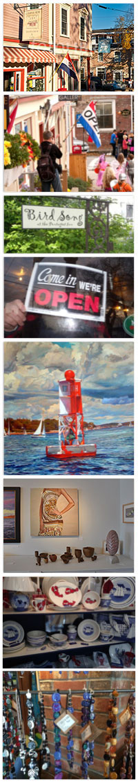 Shops and Galleries Castine Maine