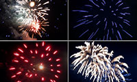 fireworks in Castine