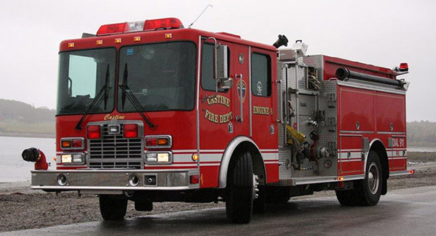 Castine Fire Engine