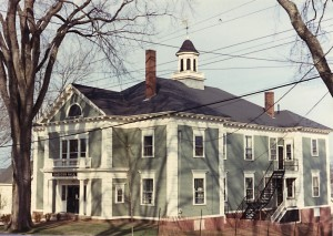 Emerson Hall, Castine, Maine - Circa 1980