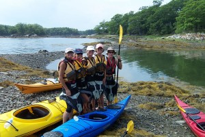 Kayaking packages in Castine Maine