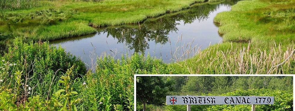 Castine British Canal
