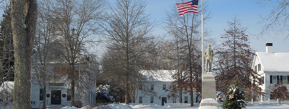 Winter in Castine Maine