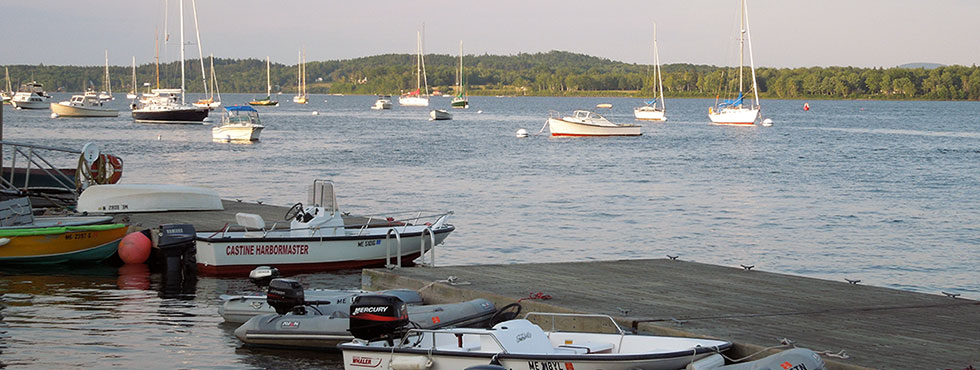 Explore the Harbor Castine Maine