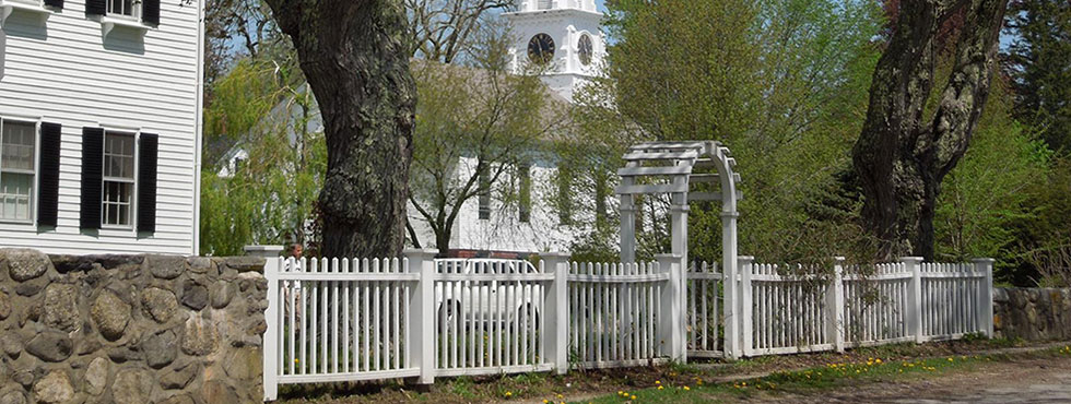 Historic Homes and Churches in Castine
