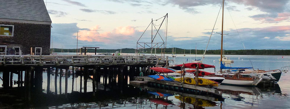 Waterfront Activities in Castine