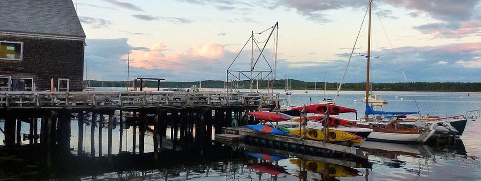 Waterfront Activities in Castine