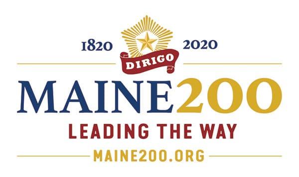 Maine Bicentennial logo