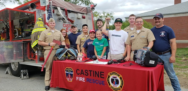 Castine volunteer firefighters